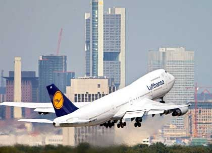 Lufthansa-Boeing: Drei Prozent Plus bei den Tickets