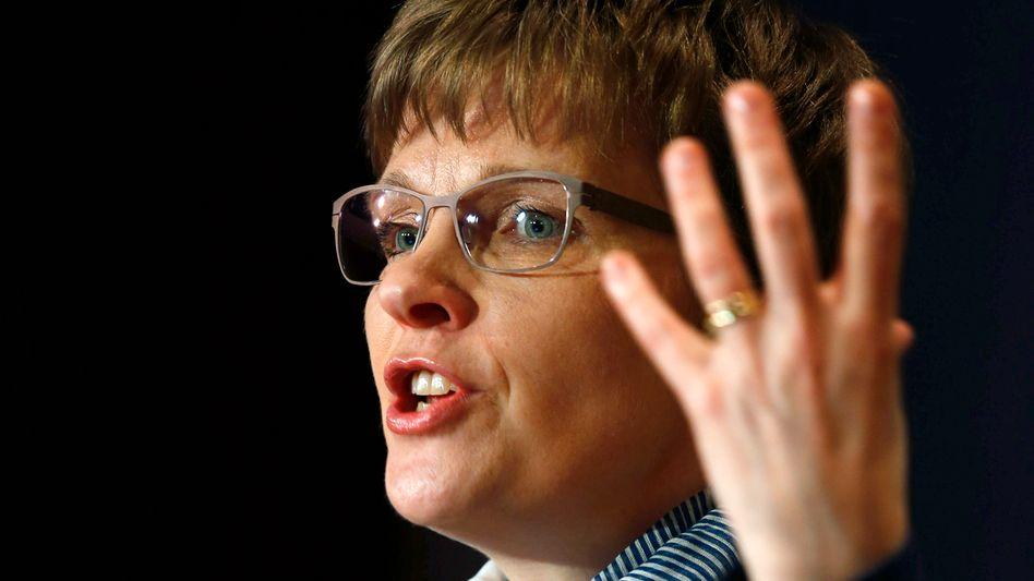 Claudia Buch, seit 2014 Vizepräsidentin der Deutschen Bundesbank: Sorge um bestimmte Aspekte der wirtschaftlichen Entwicklung
