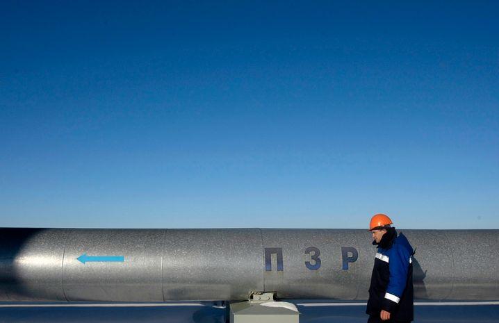 Russische Gaspipeline: Alle wichtigen Energierohstoffe kennen nur eine Richtung, westwärts nach Deutschland
