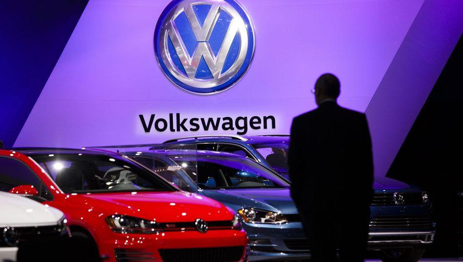 VW-Modelle bei der New York International Auto Show