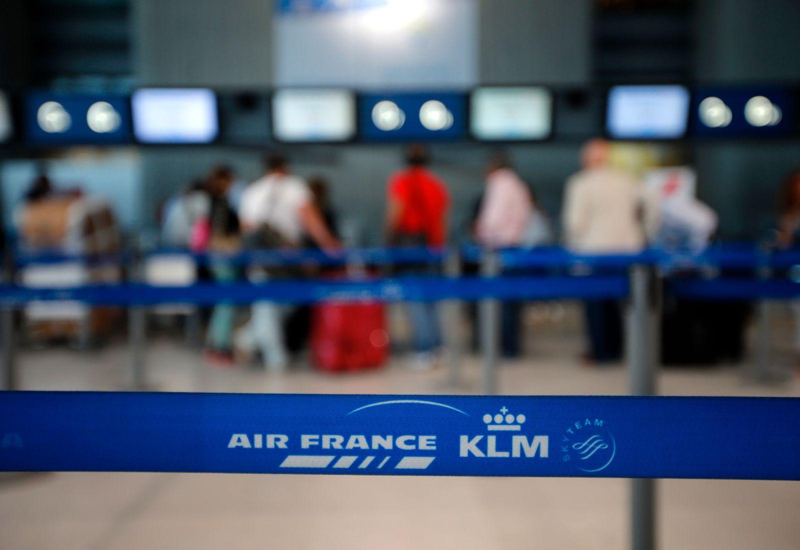 Air France KLM / Absperrung