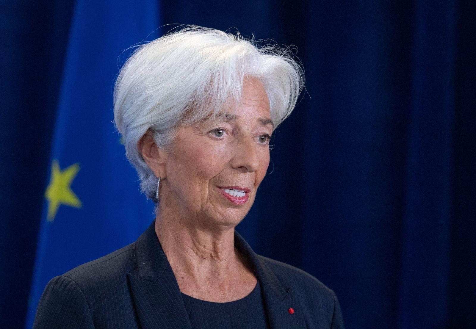 Lagarde tritt als EZB-Präsidentin an