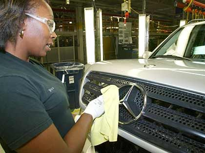 Statussymbol: Mercedes-Benz-Produktion in Alabama
