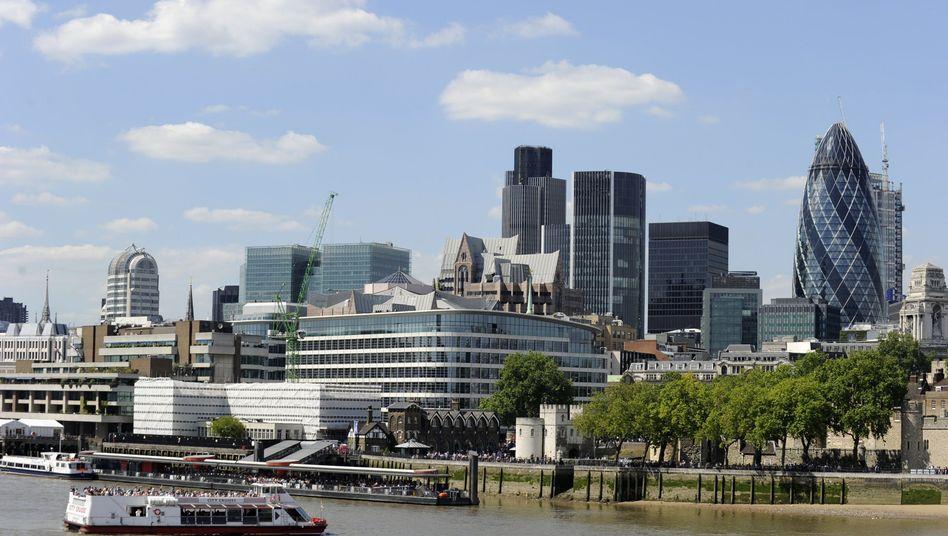 Finanzzentrum London: In der Hauptstadt bahnt sich ein bedeutender Immobiliendeal an