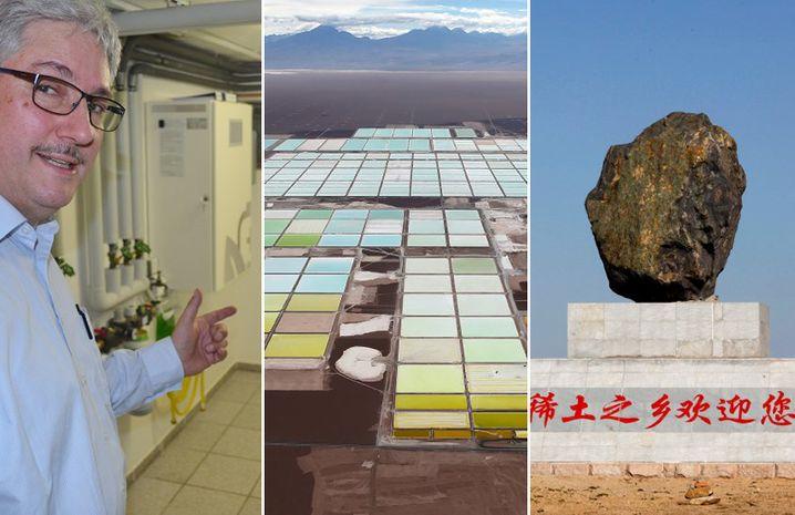 Selbstversorger, Lithium-Abbau, seltene Erden: Die neue Energiewelt bringt neue Trends mit sich - und neue Energie-Supermächte