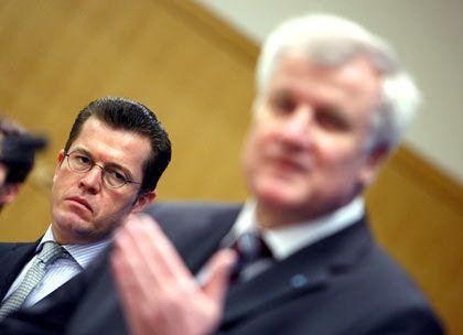 Neuer Mann fürs Wirtschaftsressort: Karl-Theodor zu Guttenberg war bislang Generalsekretär der vom bayerischen Premier Horst Seehofer geführten CSU