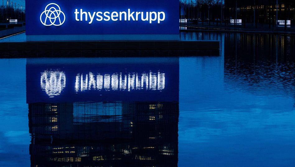 Traditionskonzern im Pott: Konzernzentrale von Thyssenkrupp in Essen