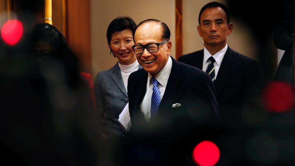 Investiert in alle Branchen: Li Ka-shing, der reichste Mann Hongkongs