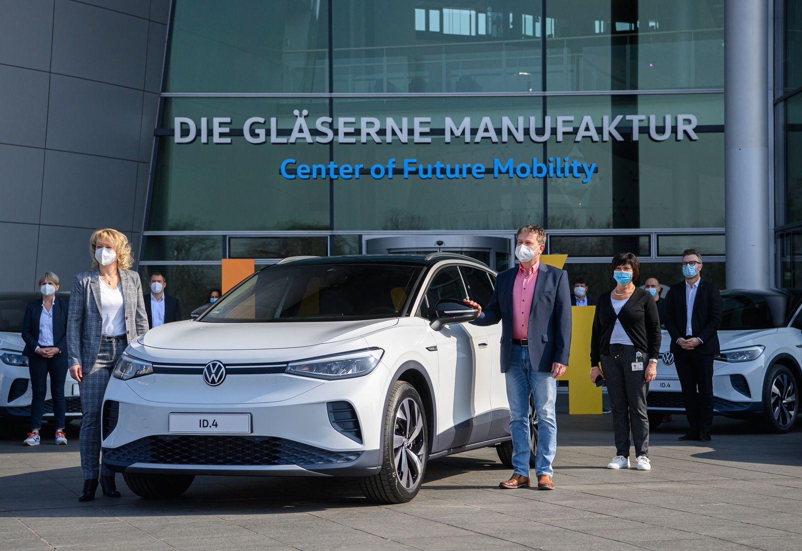 Marktstart des Volkswagen ID.4