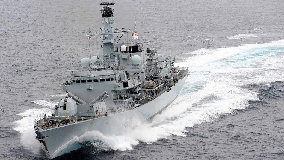 """Die britische Fregatte """"HMS Montrose"""" (Archivaufnahme)"""