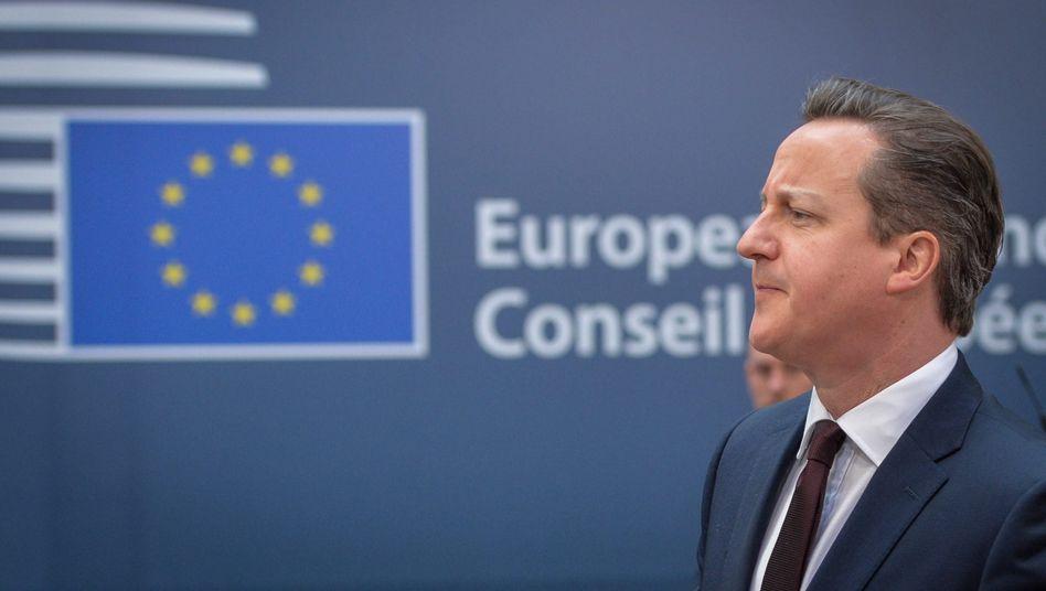 Der konservative britische Premierminister David Cameron will der Europäischen Union die Richtung vorgeben.