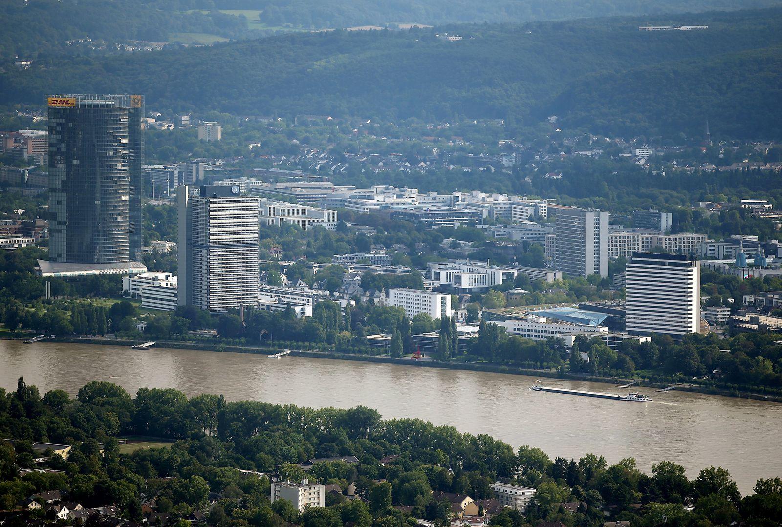 NRW aus der Luft - Bonn