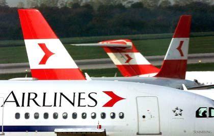 In Turbulenzen: Österreichs Fluglinie AUA mit Verlust im dritten Quartal