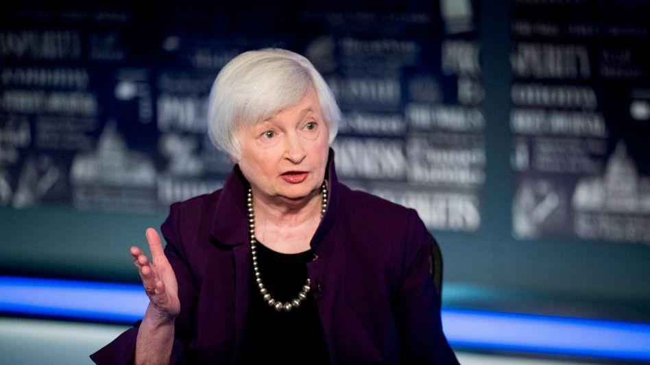 Großartig für die Märkte und das Finanzsystem: Die ehemalige Fed-Chefin Janet Yellen
