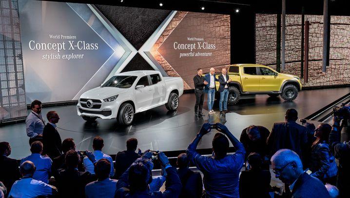 Mercedes präsentiert X-Klasse: So sieht der erste Pick-up mit Stern aus