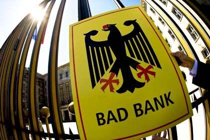 Ungeliebte Bad Bank: Bisher hat nur die WestLB einen Antrag beim Soffin gestellt