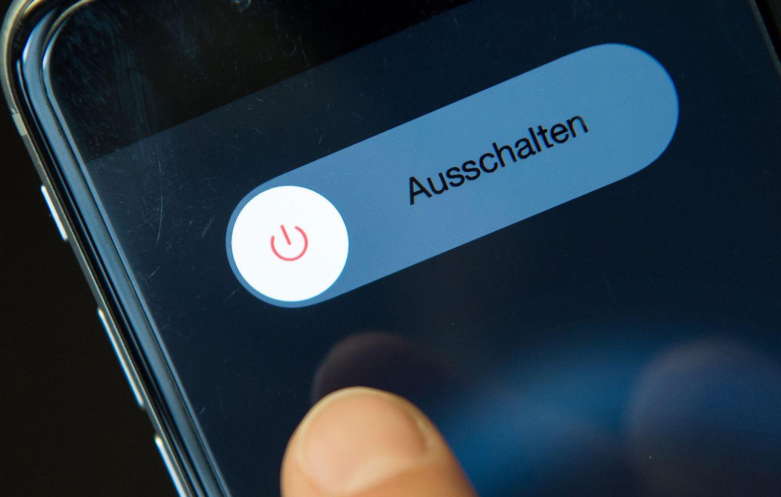 Handy ausschalten - Offline