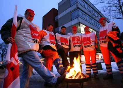 Streik: Die Dienstleistungsgewerkschaft Verdi will ein Signal setzen