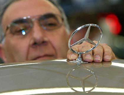 Sternen-Tochter: Ausgerechnet die Mercedes-Sparte hat im ersten Halbjahr 2004 einen Gewinnrückgang verzeichnet