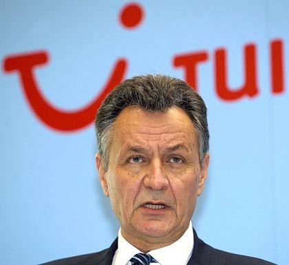Rote Zahlen: Tui-Chef Michael Frenzel muss zum Jahresauftakt weitere Verluste verkünden