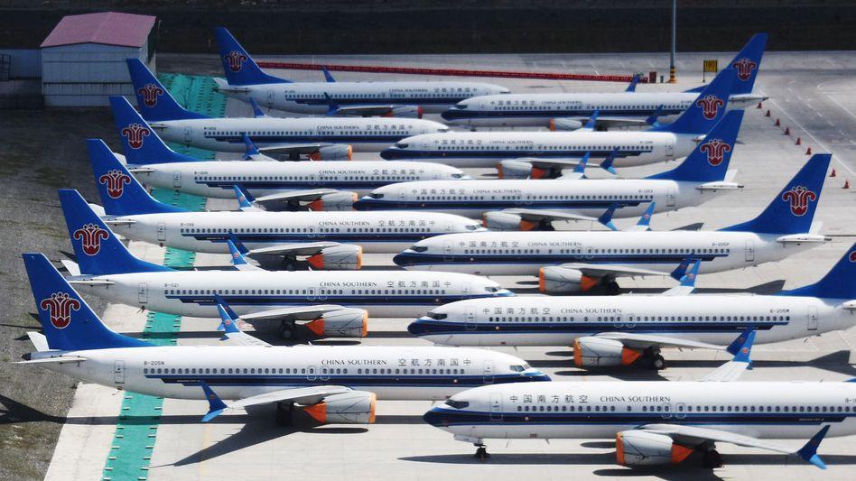 Totes Kapital: Gestrandete 737-Max in China