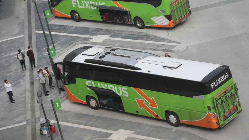 Fernbusse in Frankfurt am Main