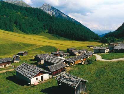Heile Bergwelt: Die Fane Alm in Südtirol