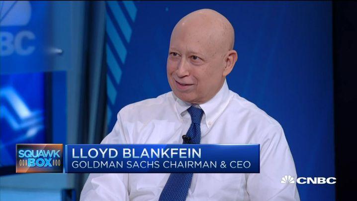 Lloyd Blankfein nach überstandener Chemotherapie Anfang 2016