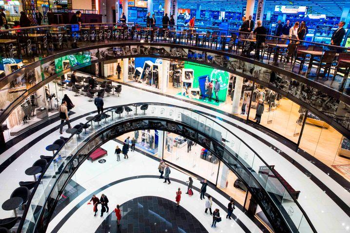 """""""Mall of Berlin"""": Ein Mega-Einkaufszentrum in Berlin"""