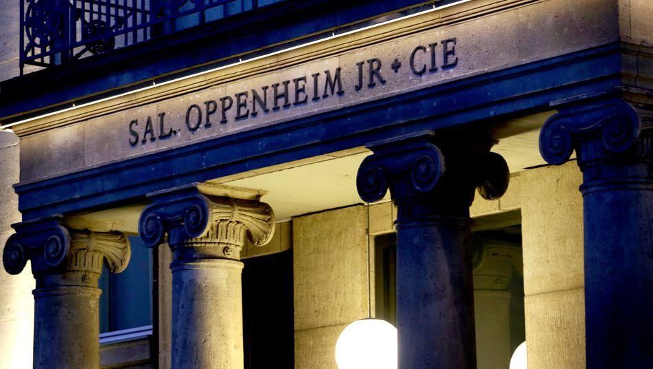 Womöglich bald Vergangenheit? Die Deutsche Bank will weiter Geschäft aus der Traditionsbank Sal. Oppenheim abziehen. Unklar ist, was aus dem Namen der Bank werden wird