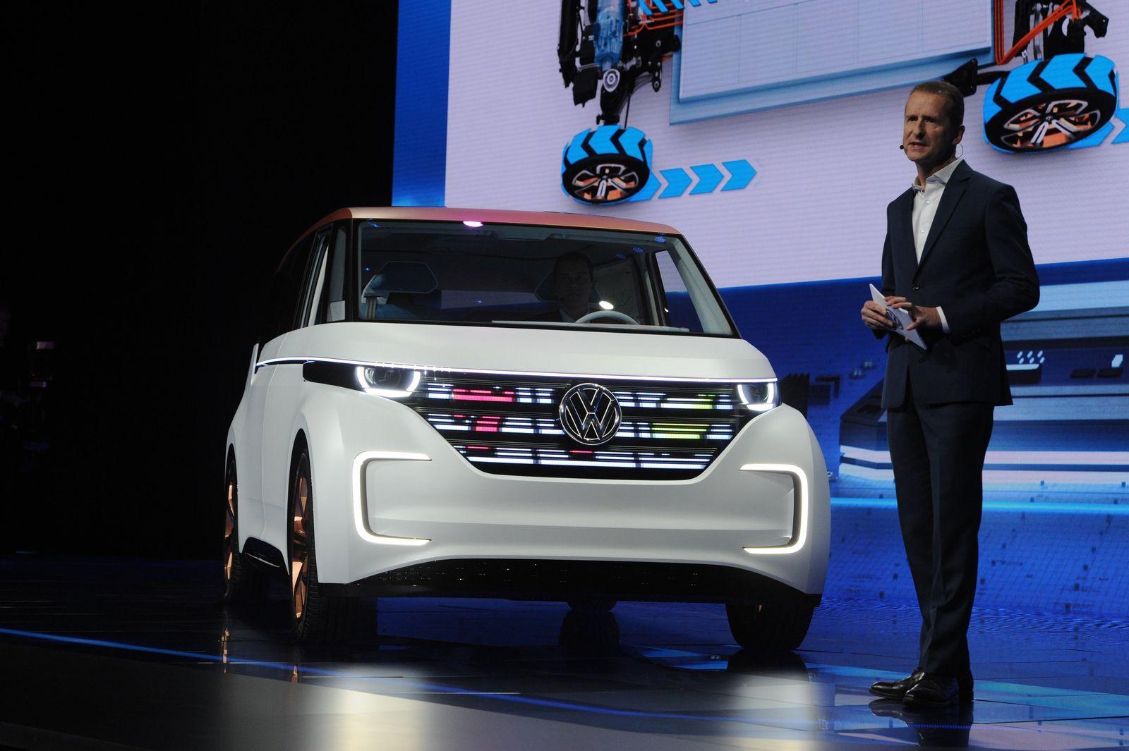 Volkswagen auf der Technik-Messe CES