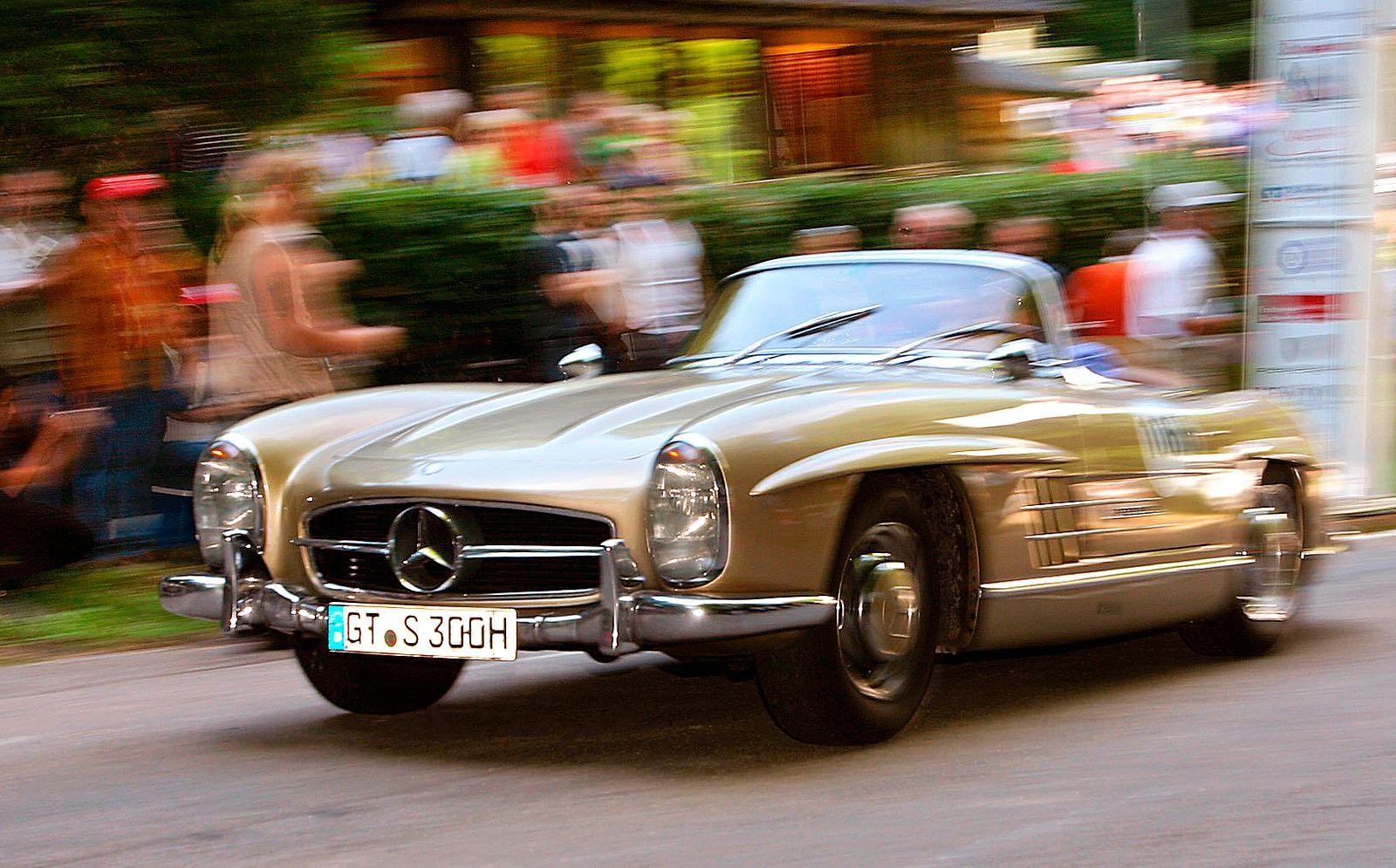 Oldtimer / Mercedes 300 SL