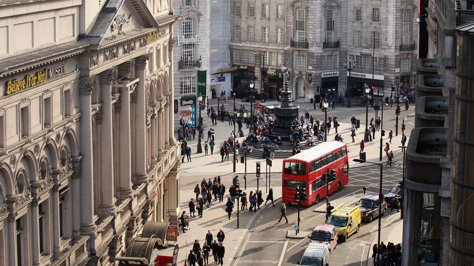 Piccadilly Circus: Londoner Pilotprojekt startet im April