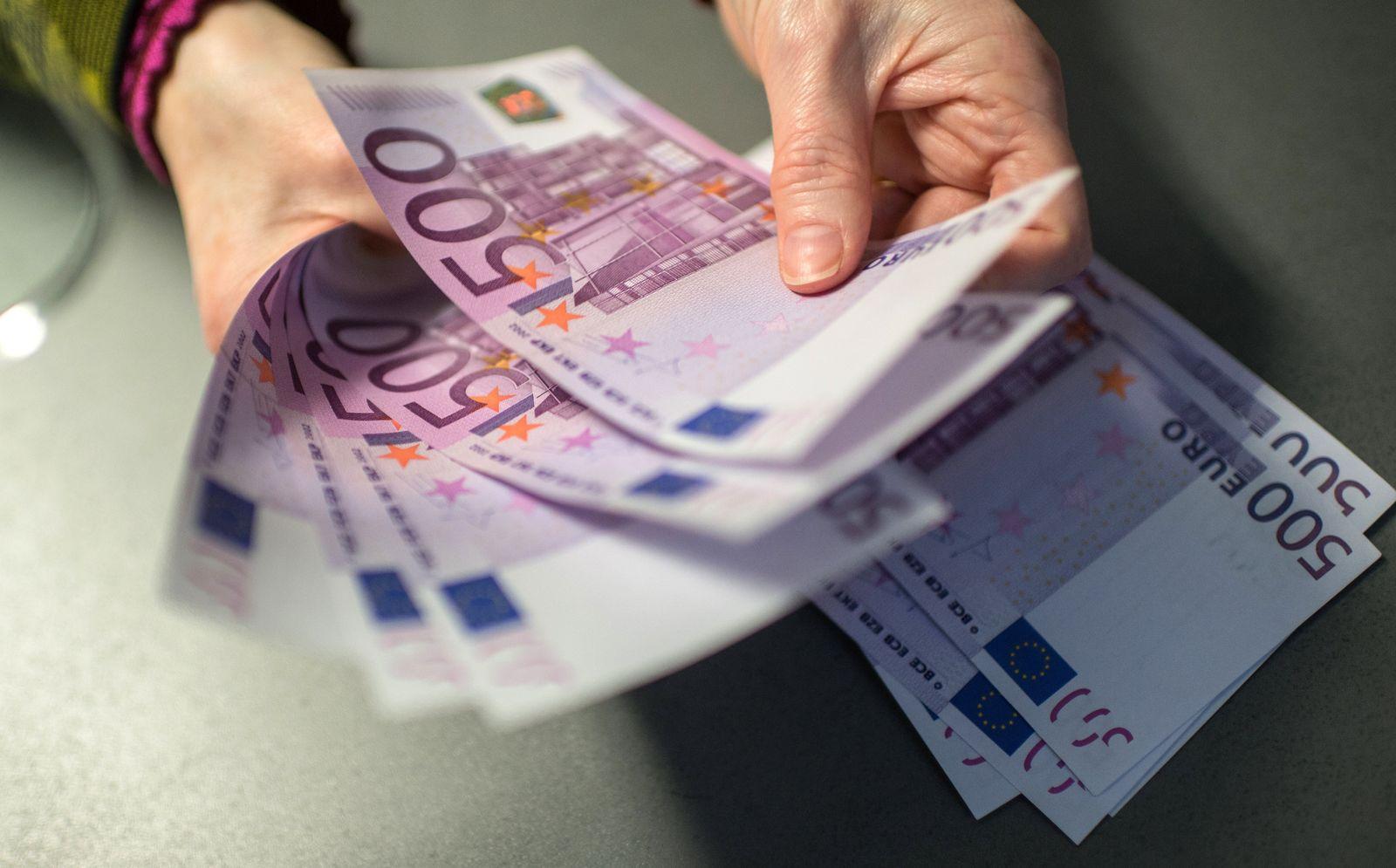 Bargeld / 500 Euro