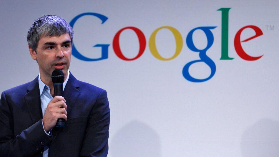 Hat das Zeug, Ansagen zu machen: Google-Chef Larry Page