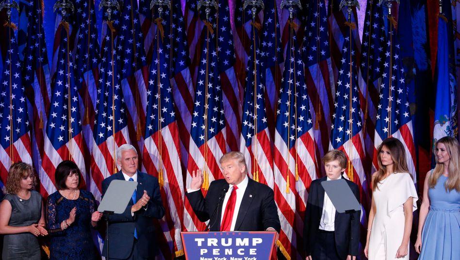 """Donald Trump: """"Wir werden unser Wachstum verdoppeln und die stärkste Wirtschaft auf der ganzen Welt haben"""""""