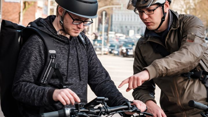 Gewusst wo: Fahrrad-Navis und Handy-Apps für Radfahrer