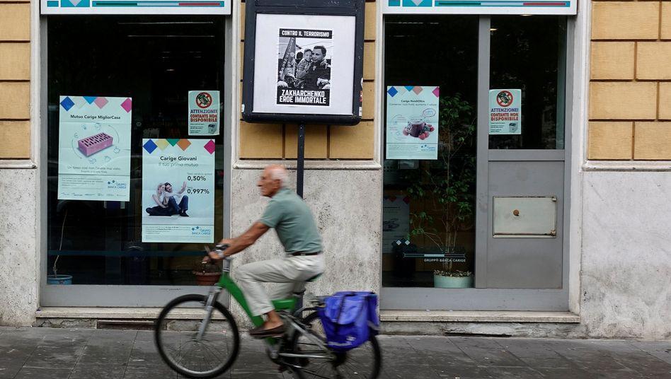 Banca Carige in Rom: Die EZB will mit der Maßnahme die Stabilität der Bank sicher stellen
