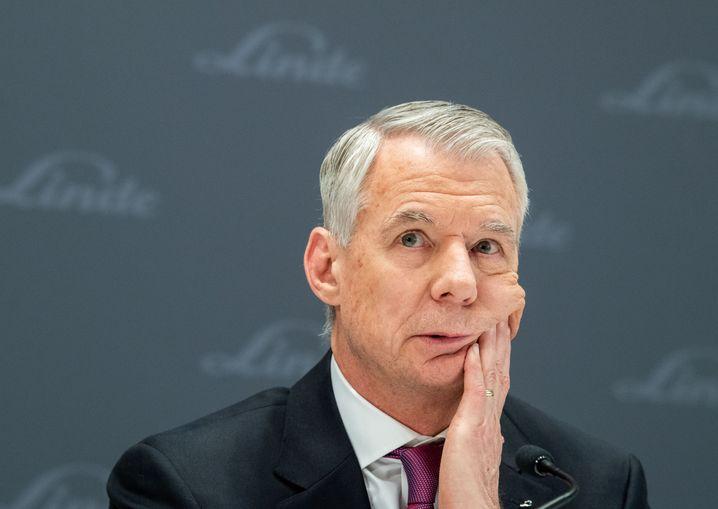 Engelsgehalt: Der bestbezahlte Topmanager im Dax ist mit knapp 54 Millionen Euro Linde-CEO Steve Angel