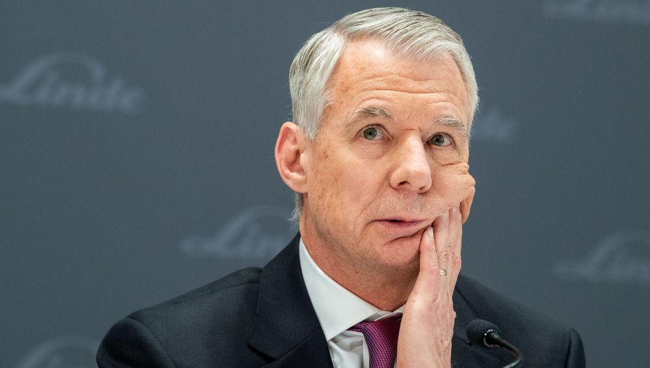 Großverdiener: Linde-Chef Steve Angel strich im vergangenen Jahr eine Vergütung von 53,4 Millionen Euro ein - mehr als jeder andere Dax-Chef