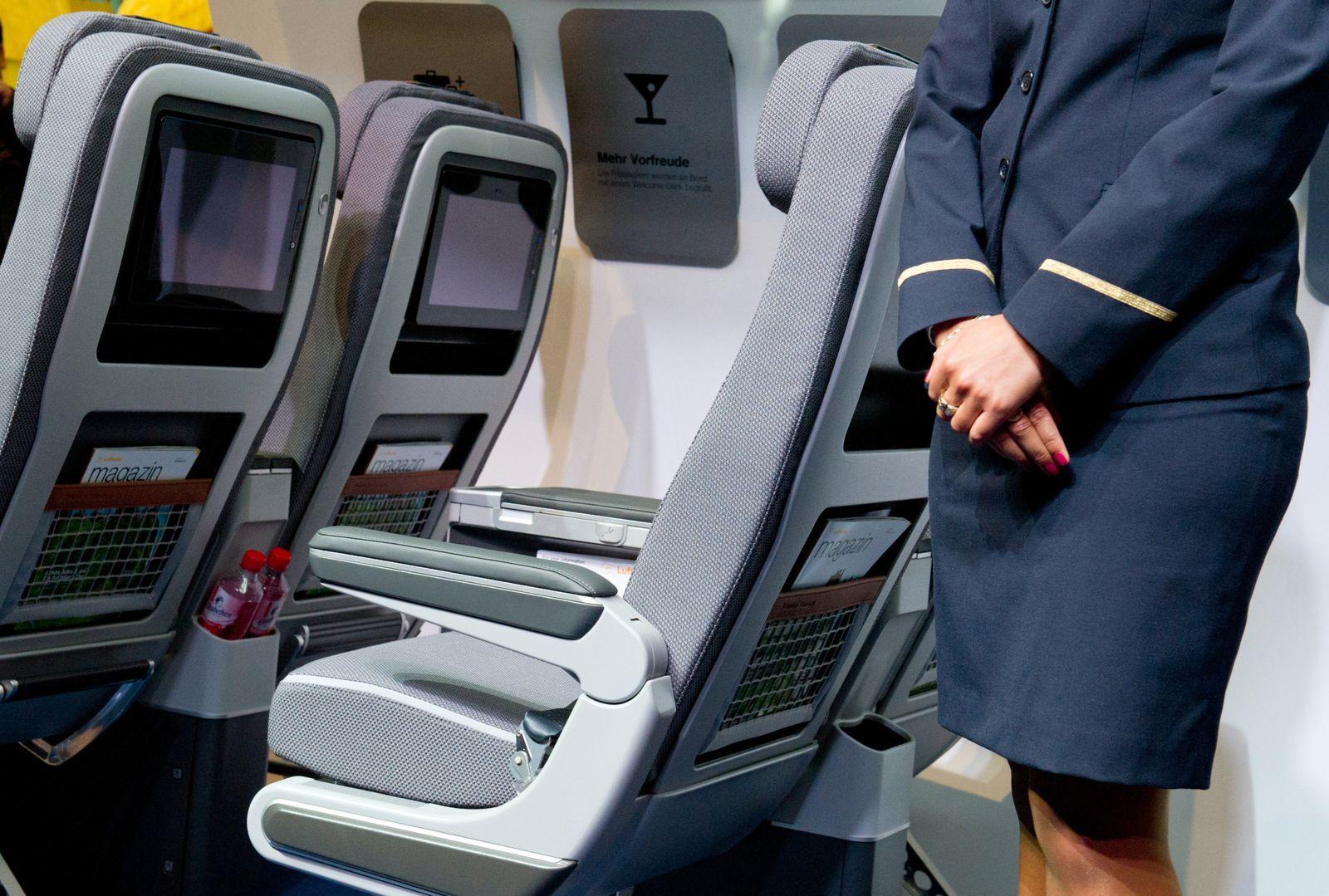 Flugbegleiter Lufthansa / Flugbegleiterin