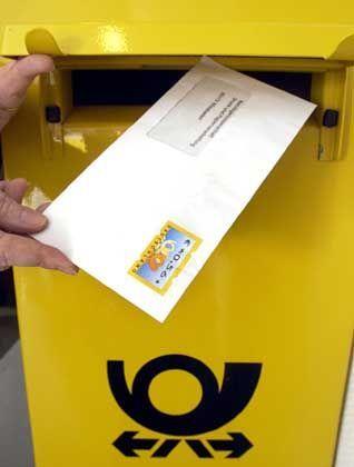 Günstigeres Briefporto in Aussicht: Briefzentrum der Deutschen Post