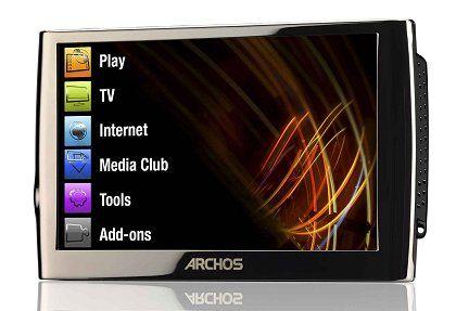 Archos Mediaplayer Archos 5: So oder zumindest so ähnlich dürfte auch das Internet Media Tablet aussehen