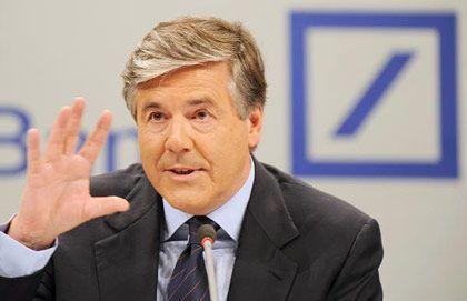 Warnt vor wenigen dominanten Banken: Deutsche-Bank-Chef Ackermann fürchtet Oligopol auf dem Finanzmarkt