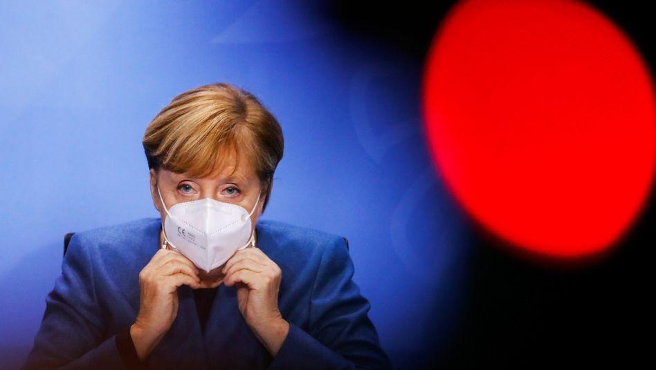 """Akute nationale Gesundheitsnotlage"" vermeiden: Kanzlerin Merkel heute in Berlin"