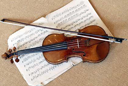 Der Ton flackert wie Kerzenlicht: Ein 300 Jahre alte Stradivari