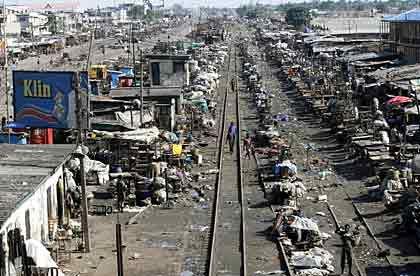 Einkaufen für Arme: Der Oshodi-Markt in Lagos