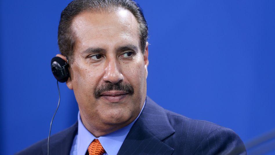 Anker-Investor der Deutschen Bank: Der Ex-Ministerpräsident von Katar, Scheich Hamad bin Jassim Al Thani