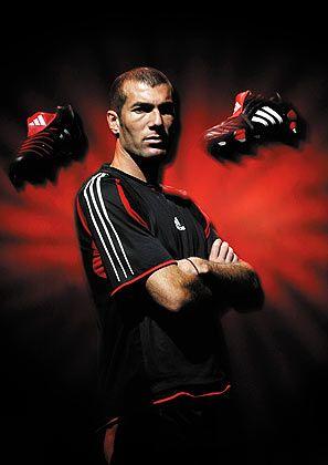 Zinedine Zidane: Weltfußballer aus Frankreich