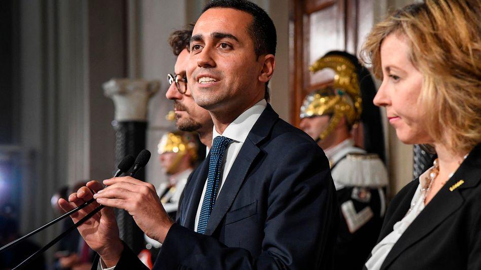Fünf-Sterne-Parteichef Luigi di Maio